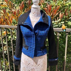 NWOT Plaid Material Girl Jacket